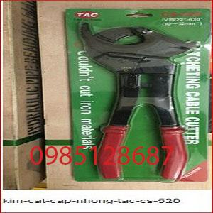 kìm cắt cáp nhông TAC cs-520