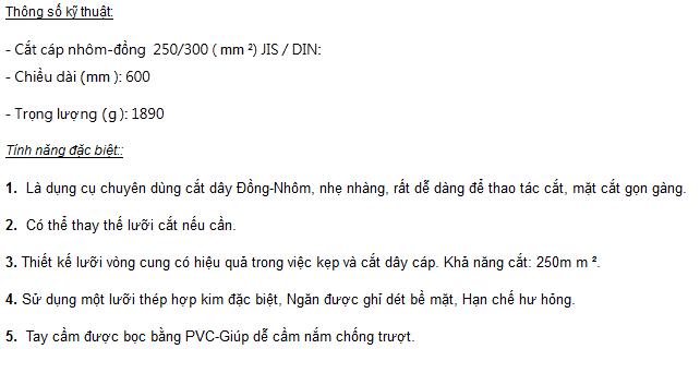 thong-so-ky-thuat-kim-cat-cap-TAC-CC-250