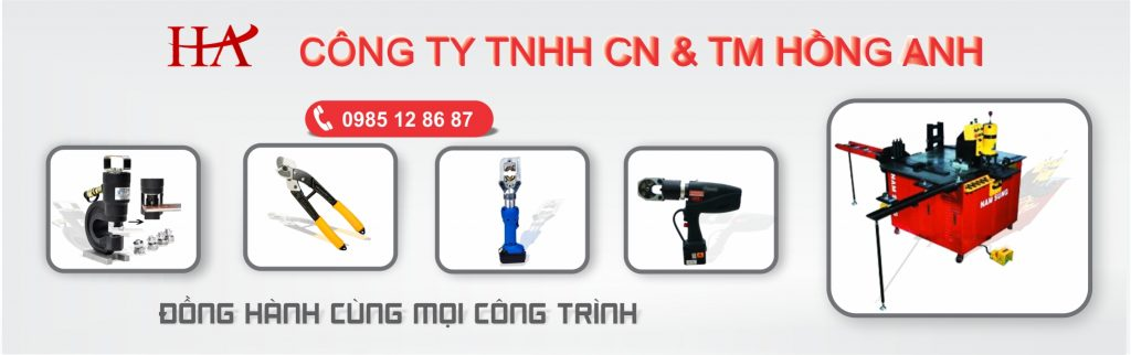 Cung cấp các sản phẩm thuỷ lực, công trình, máy gia công thanh cái tại TP HCM và hà Nội